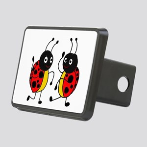 Funny Ladybugs Dancing Hitch Cover