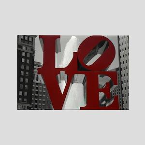 Love @ 1st Sight Rectangle Magnet