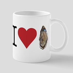 I heart oysters. I love oysters. Yummy seafood! Mu