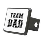 Team Dad Rectangular Hitch Cover