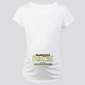 Snuggle Monster Loading Maternity T-Shirt