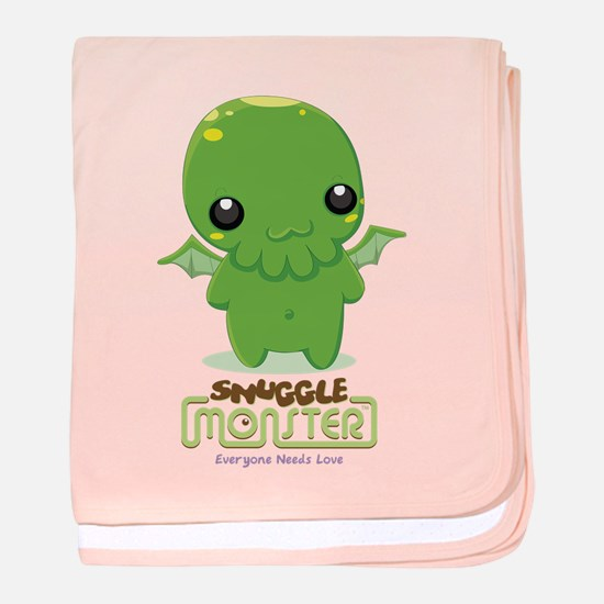 Cute Cthulhu baby blanket