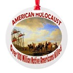 American Holocaust Round Ornament