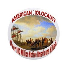 American Holocaust Ornament (Round)