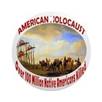 American Holocaust Ornament (Round)
