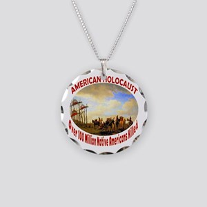 American Holocaust Necklace Circle Charm
