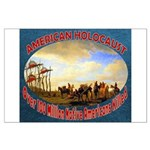 American Holocaust Large Poster