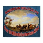 American Holocaust Throw Blanket