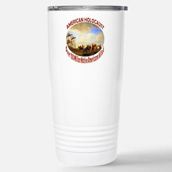 American Holocaust Stainless Steel Travel Mug