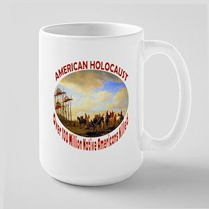 American Holocaust Large Mug