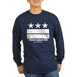 Washington DC Capital City Long Sleeve Navy