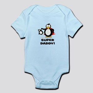 Super Daddy Penguin Body Suit