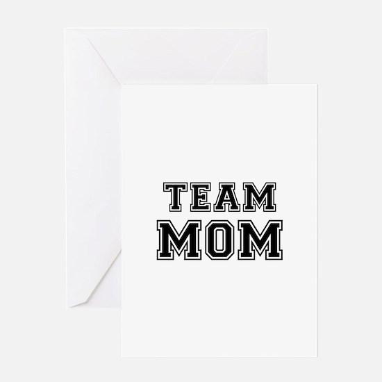 Team mom Greeting Card