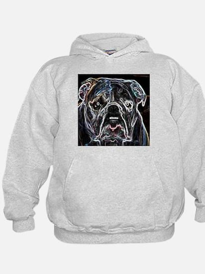 Neon Bulldog Hoodie
