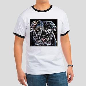 Neon Bulldog Ringer T