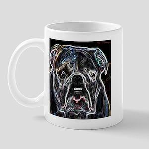 Neon Bulldog Mug