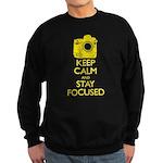Men's Nikon - Keep Calm shirt Sweatshirt (dark)