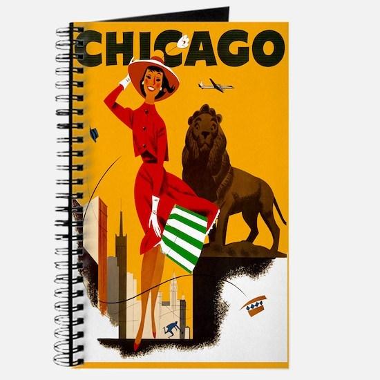 Vintage Chicago Illinois Travel Journal