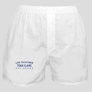 Team Claire - Dharma Initiative Boxer Shorts