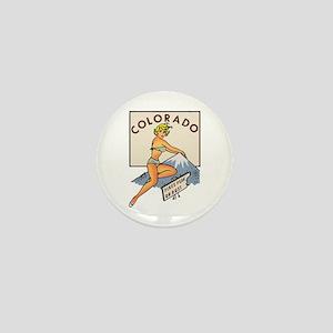Colorado Pinup Mini Button
