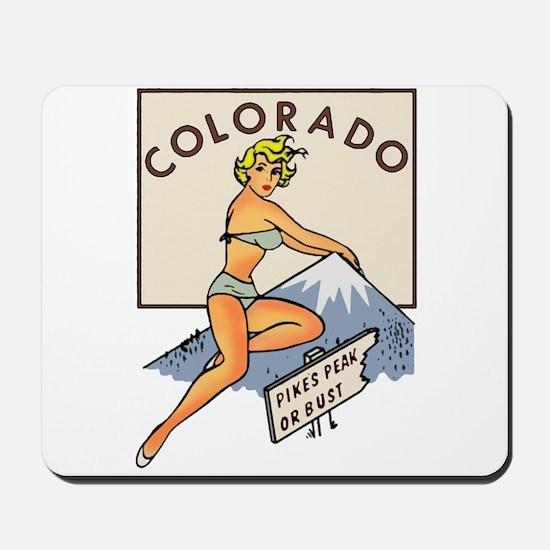Colorado Pinup Mousepad