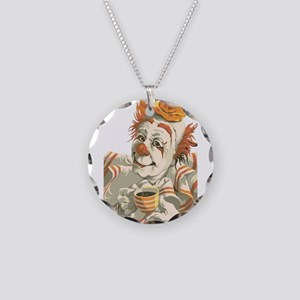Coffee and Clown Necklace