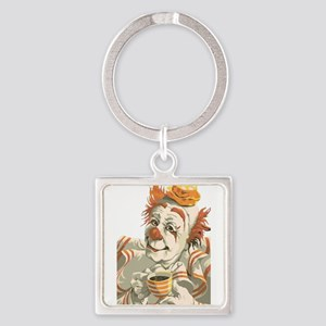 Coffee and Clown Keychains