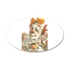 Coffee and Clown Wall Decal