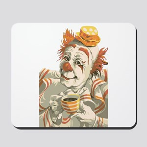 Coffee and Clown Mousepad