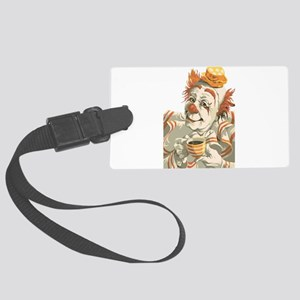 Coffee and Clown Luggage Tag