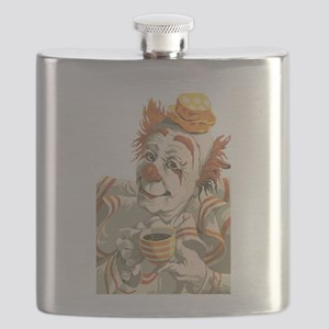 Coffee and Clown Flask