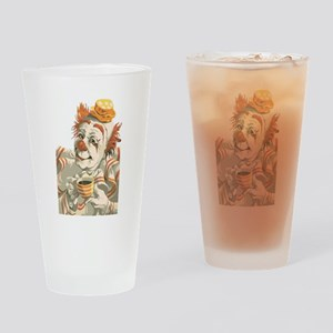 Coffee and Clown Drinking Glass