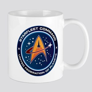 Star Trek Federation Of Planets Patch Mug