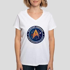 Star Trek Federation Of Planets Patch Women's V-Ne