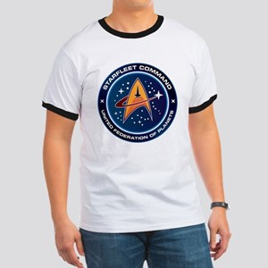 Star Trek Federation Of Planets Patch Ringer T