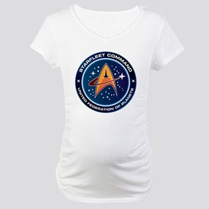 Star Trek Federation Of Planets Patch Maternity T-