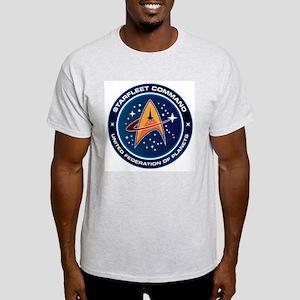 Star Trek Federation Of Planets Patch Light T-Shir