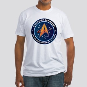 Star Trek Federation Of Planets Patch Fitted T-Shi