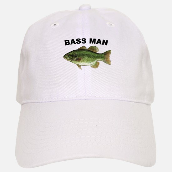 Bass Man ( Ass Man ) Fishing Baseball Baseball Cap