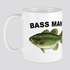 Bass Man ( Ass Man ) Fishing Mug