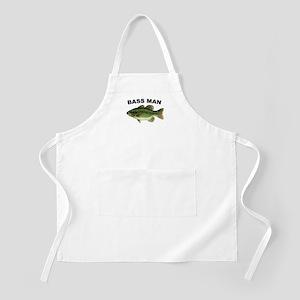 Bass Man ( Ass Man ) Fishing BBQ Apron