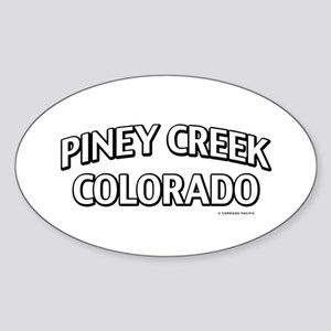 Piney Creek Colorado Sticker