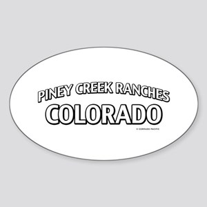 Piney Creek Ranches Colorado Sticker