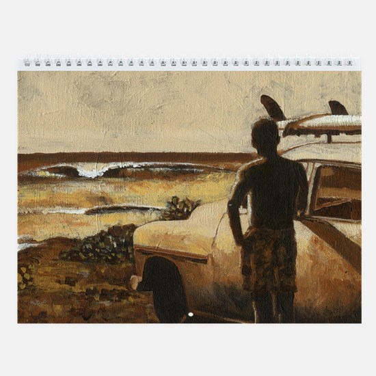 Mark Kingsley Brown Wall Calendar