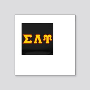"""Sigma Lambda Upsilon Square Sticker 3"""" x 3"""""""