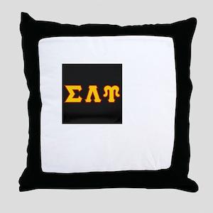 Sigma Lambda Upsilon Throw Pillow