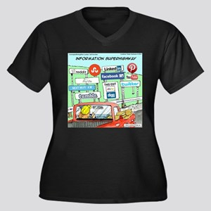Information Superhighway Sort Of Plus Size T-Shirt