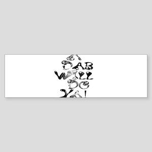 A Dab Will Do Ya! Bumper Sticker