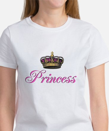 Pink Princess with crown T-Shirt