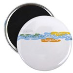 Colorful clouds Magnet